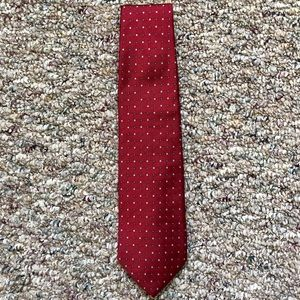 Brooks Brothers 346 Red & Blue Patterned Tie